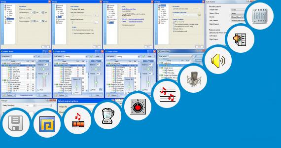 Software collection for Gambar Mixer Audio