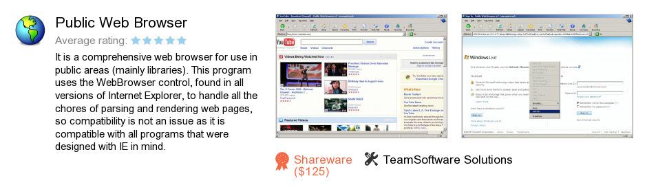 Public Web Browser