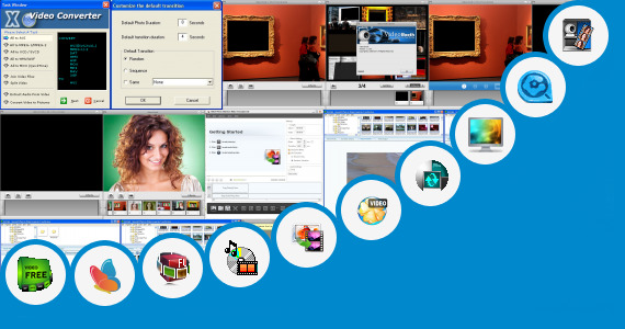 Software collection for Video Photo Aplikasi