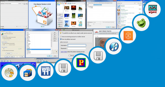 Software collection for Java Photo Editing 320 240