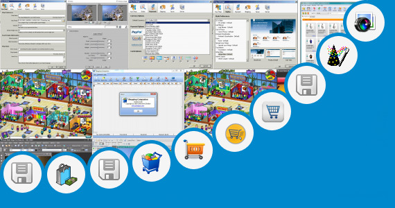 Software collection for Contoh Shopping Product