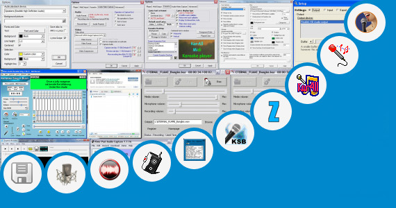 Software collection for Lagu Format Audio Karaoke