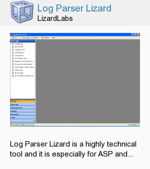 Log Parser Lizard