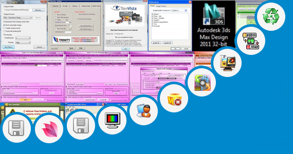 Software collection for 3d Max Highly Compressed