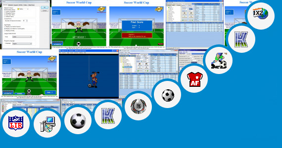 Software collection for Solin Soccer Football Java Game
