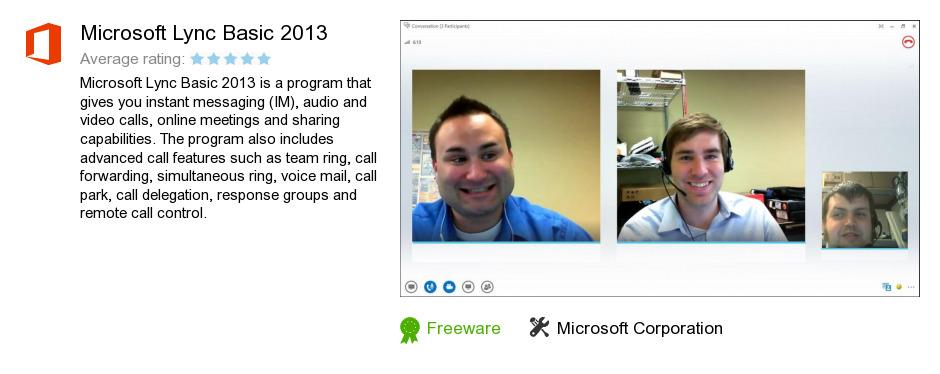 Microsoft Lync Basic 2013