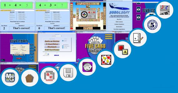 free split card game score sheets