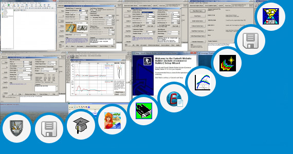 Software collection for Virtual Engine Builder 3d