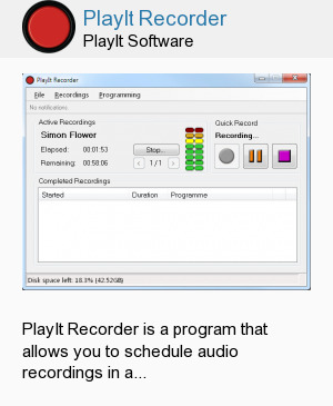 PlayIt Recorder