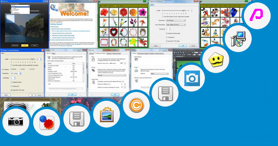 Software collection for Kannada Text Photo Editer