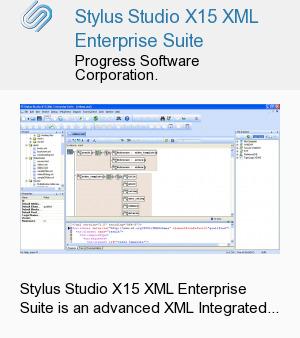 Stylus Studio X15 XML Enterprise Suite