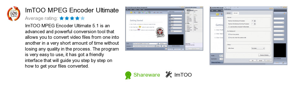 ImTOO MPEG Encoder Ultimate
