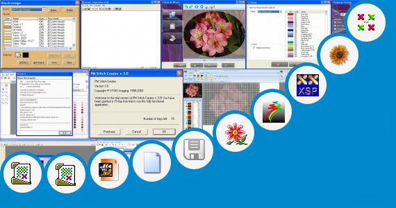 Software collection for Sindhi Stitch Designs