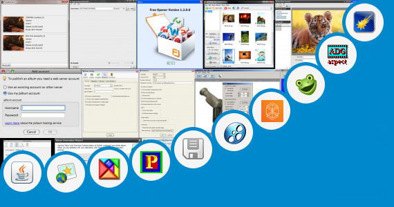 Software collection for Photo Editing Java Jar 320x240