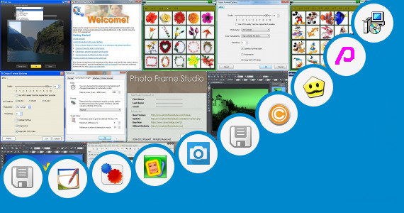 Software collection for Bangla Text Photo For