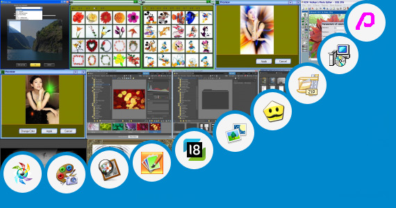 Software collection for Catwang Photo Editor