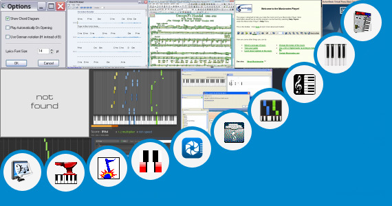 Software collection for Pgn Piano Sheets