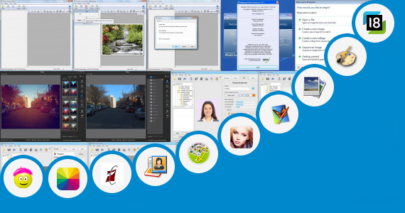 Software collection for Photo Editor Apps 320 240