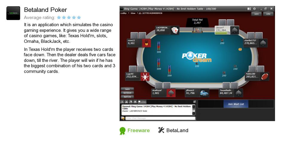 poker betaland