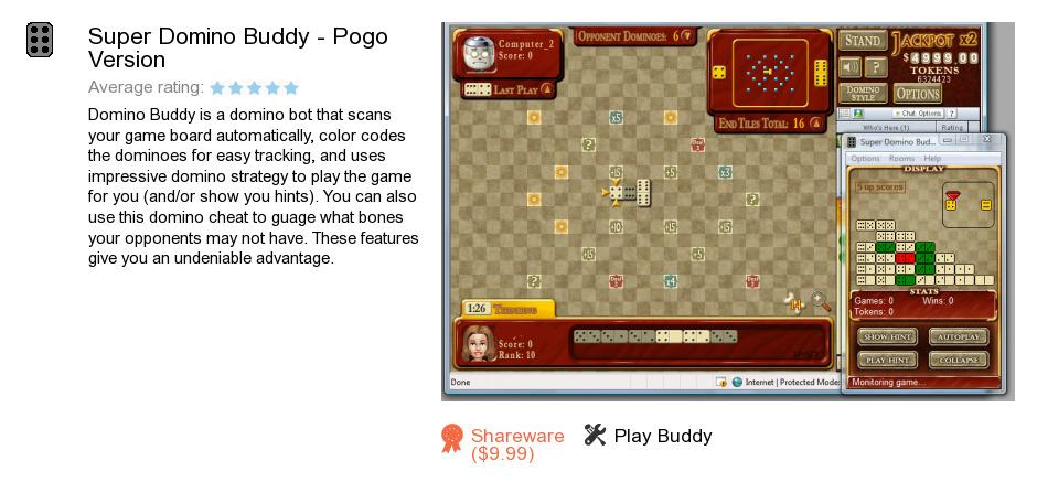 Super Domino Buddy - Pogo Version