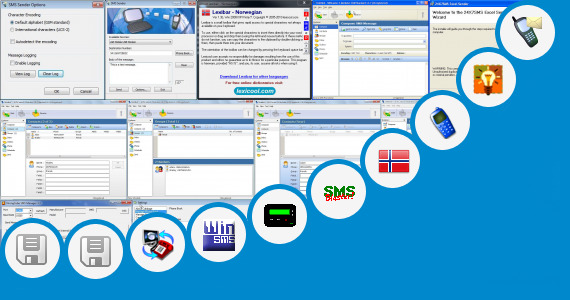 Software collection for 550 Character Free Sms