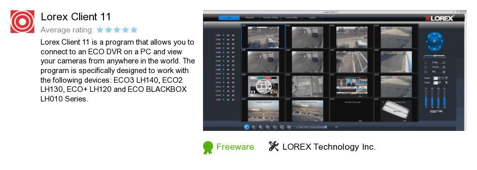 Lorex Client 11