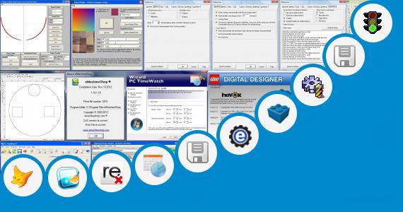 Software collection for Computer Shop Design Ideas