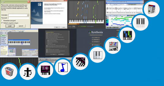 Software collection for Piano Songs Music Sheet Virtual Malayalam Songs