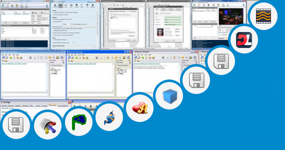Software collection for Video Chat Lan Open Source