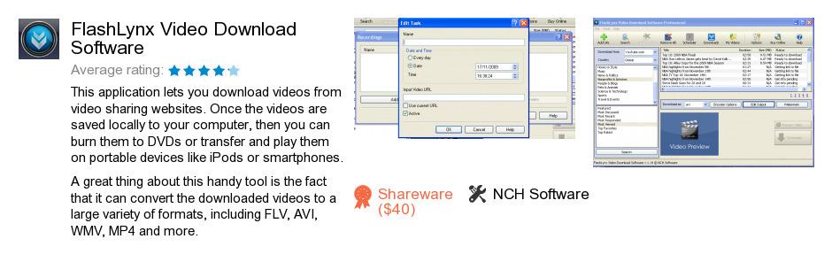 FlashLynx Video Download Software