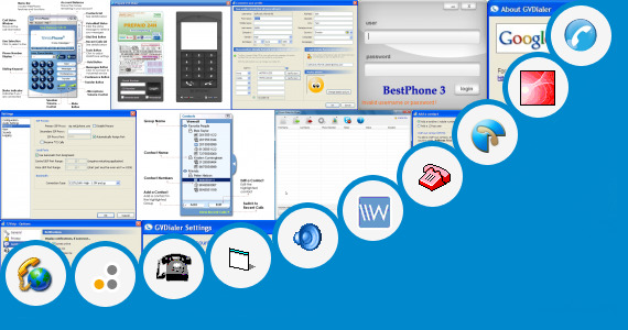 Software collection for Voice 24 Dialer