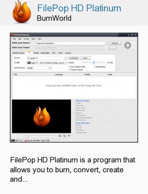FilePop HD Platinum