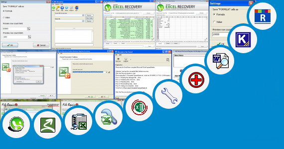 Software collection for Excel File Header Repair