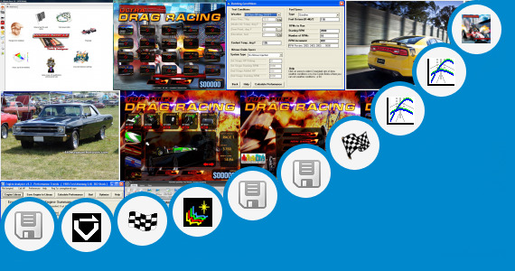 Software collection for Drag Racing Vxp