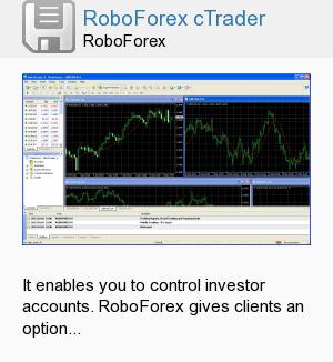 RoboForex cTrader