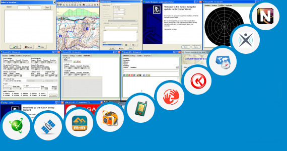 Software collection for Gps Pianet Navigation Map Updates