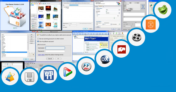 Software collection for Touchscreen Java Video Editing