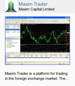 Maxim Trader