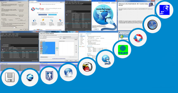 Software collection for Vxp Net Browser