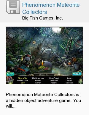 Phenomenon Meteorite Collectors