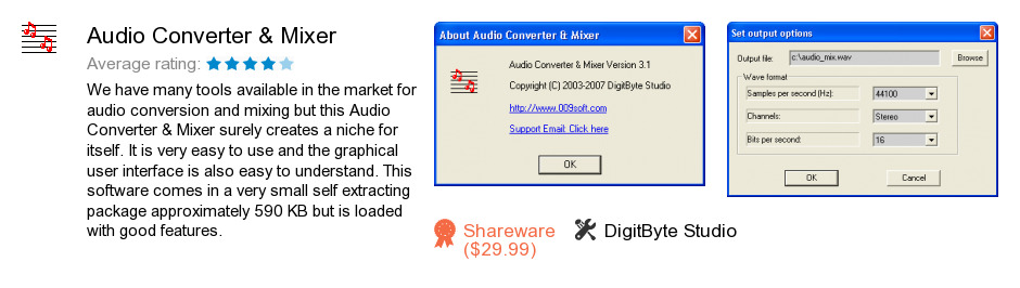 Audio Converter & Mixer