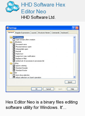 HHD Software Hex Editor Neo
