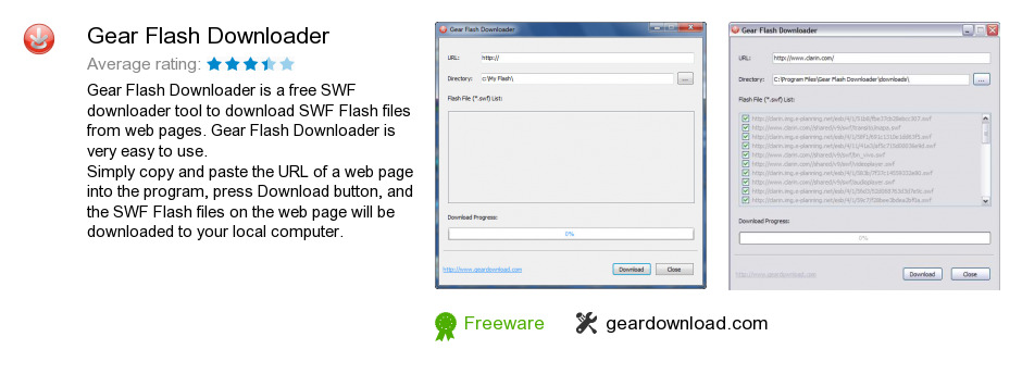 Gear Flash Downloader