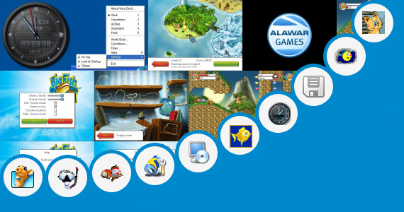 Software collection for Fish Moving Gadget For Windows 7 Free