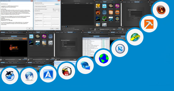 Software collection for Web Browsers Unrestricted