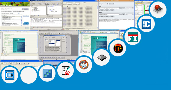 Software collection for Avr Ladder Programming