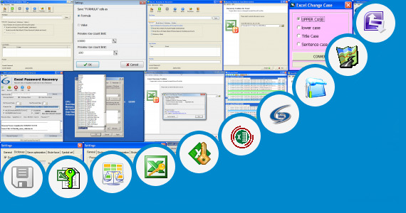 Software collection for Ikon Microsoft Excel 2007