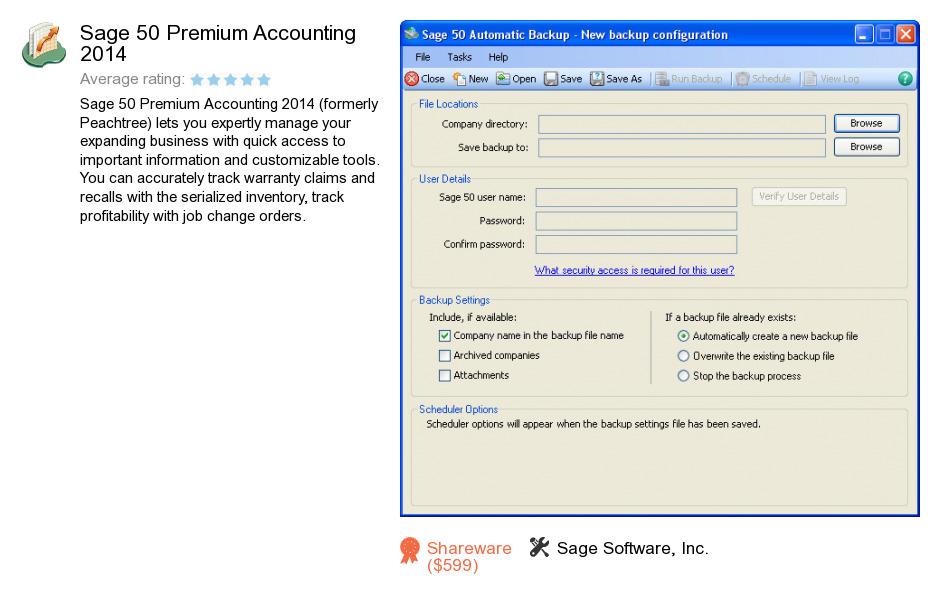 Sage 50 Premium Accounting 2014