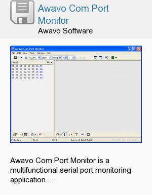 Awavo Com Port Monitor