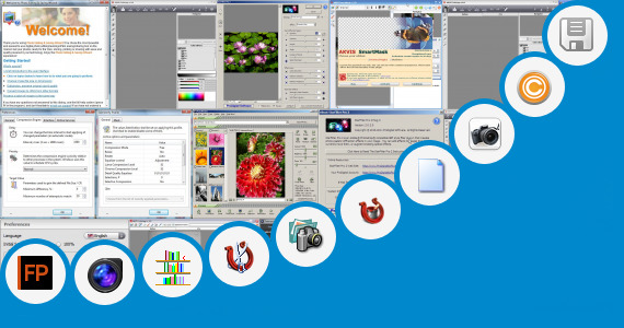 Software collection for Adobe Photo Soft Bangla Books